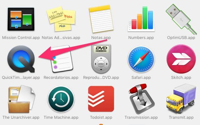 QuickTime Mac