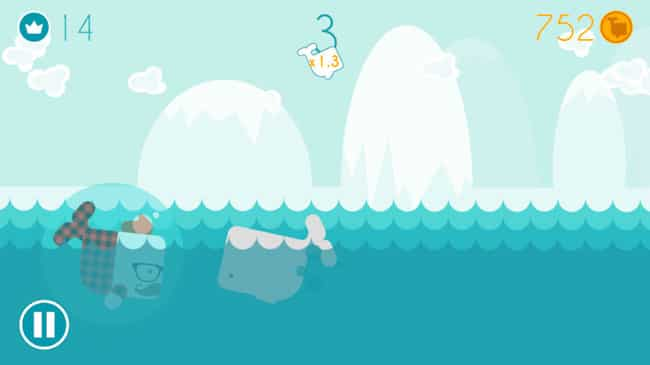 Speedy Whales para iPhone y iPad