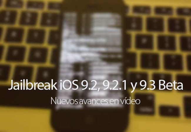 Vídeo con nuevos avances del Jailbreak de iOS 9.3 Beta