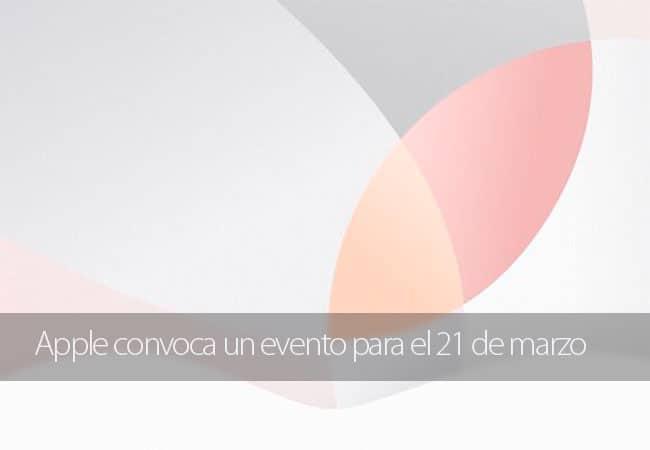 Apple convoca un evento para el 21 de marzo