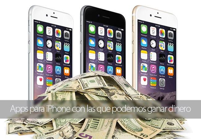 Apps para iPhone con las que ganar dinero