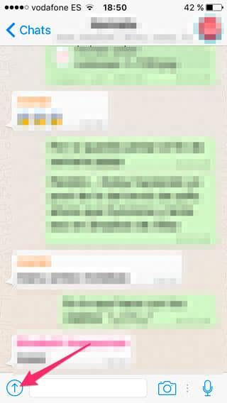 Botón de compartir en WhatsApp