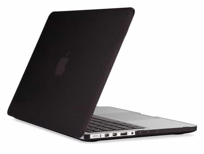 Carcasa Speck negra para MacBook Pro Retina 13