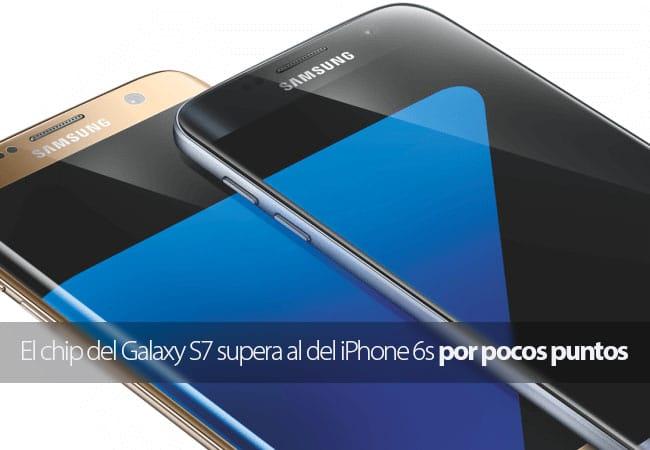 El Chip del Galaxy S7 supera por poco al A9 de Apple