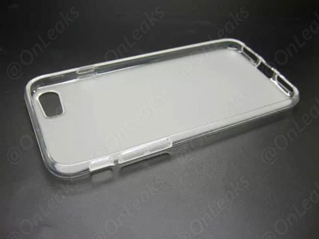 Interior de funda filtrada para iPhone 7