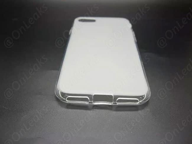 Funda filtrada para iPhone 7