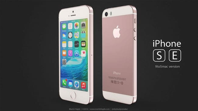 iPhone SE concepto de diseño