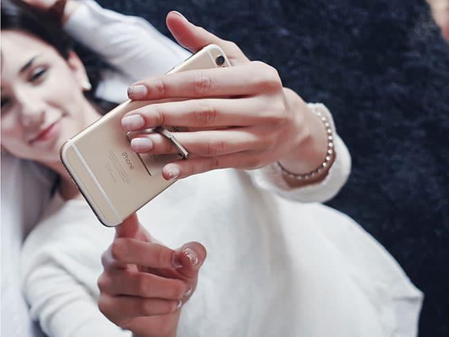 Anillo para mejorar la sujección del iPhone