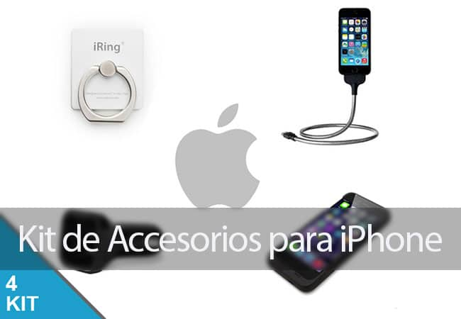 Kit de accesorios para iPhone