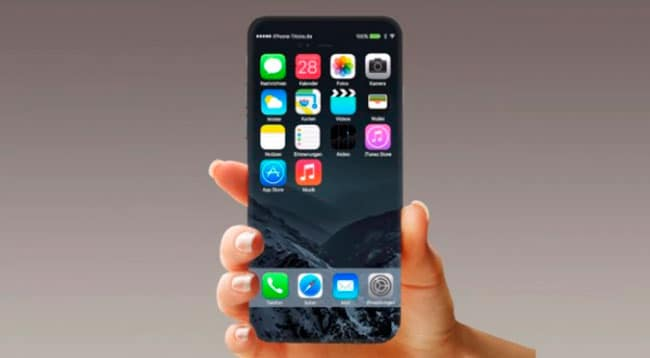 iPhone con pantalla OLED