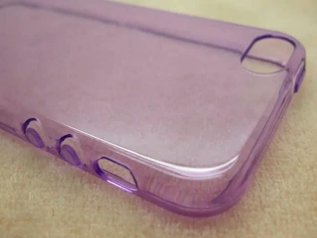 Trasera de la funda filtrada para el iPhone SE