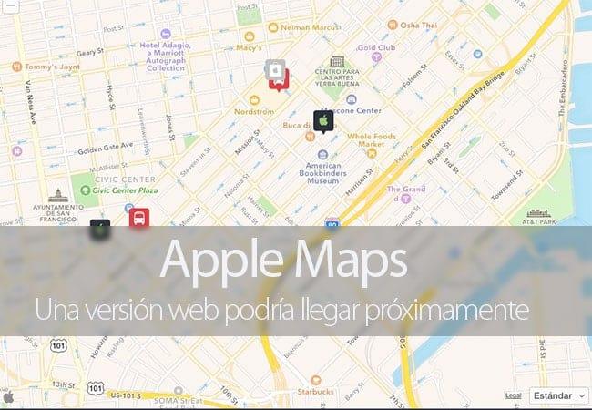 Apple maps versión web llegaría muy pronto