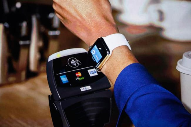 Apple Pay desde el smartwatch de Apple