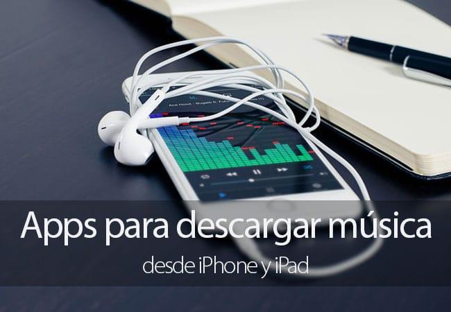 Descargar música iPhone