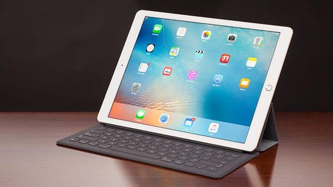 Cámara frontal del iPad Pro de 9,7 pulgadas