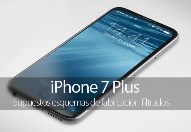 iPhone 7 Plus esquemas filtrados
