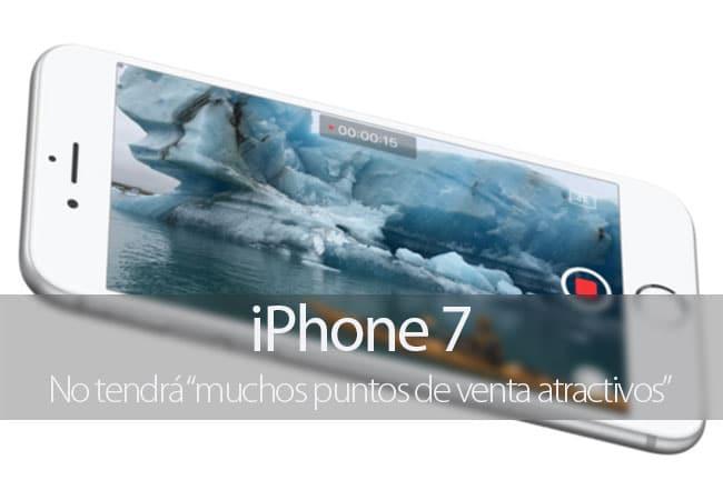 El iPhone 7 no tendrá puntos de venta atractivos según el analista Ming-Chi Kuo