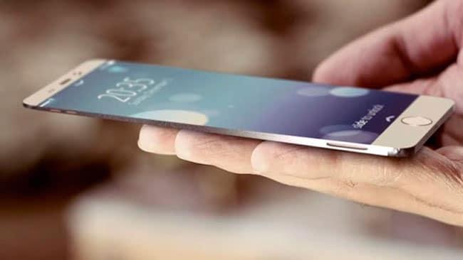 iPhone con pantalla AMOLED
