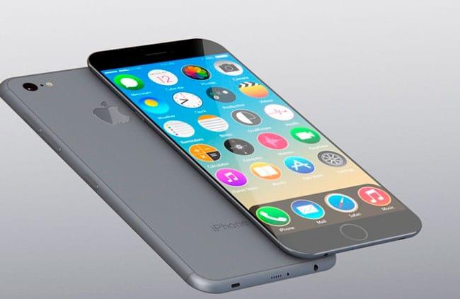 Concepto de iPhone con pantalla AMOLED