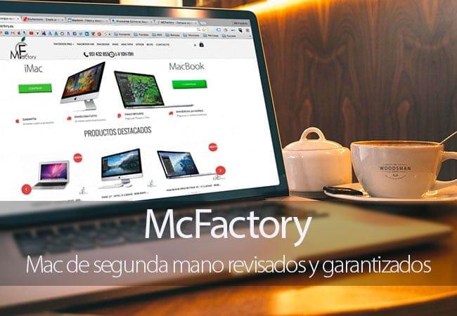 McFactory, Mac de segunda mano revisados y garantizados