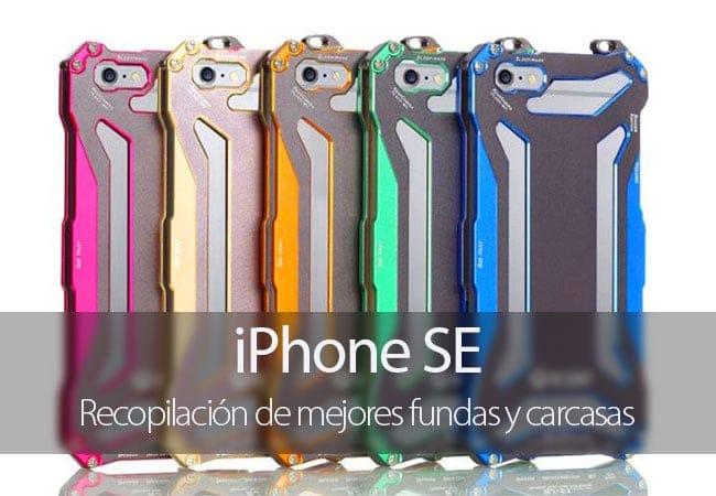 Mejores fundas y carcasas para iPhone SE