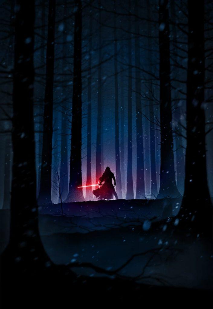 Star-Wars-iPhone-Wallpaper-The-Force-Unleashed-Kylo-Ren-Marko-Manev-Color