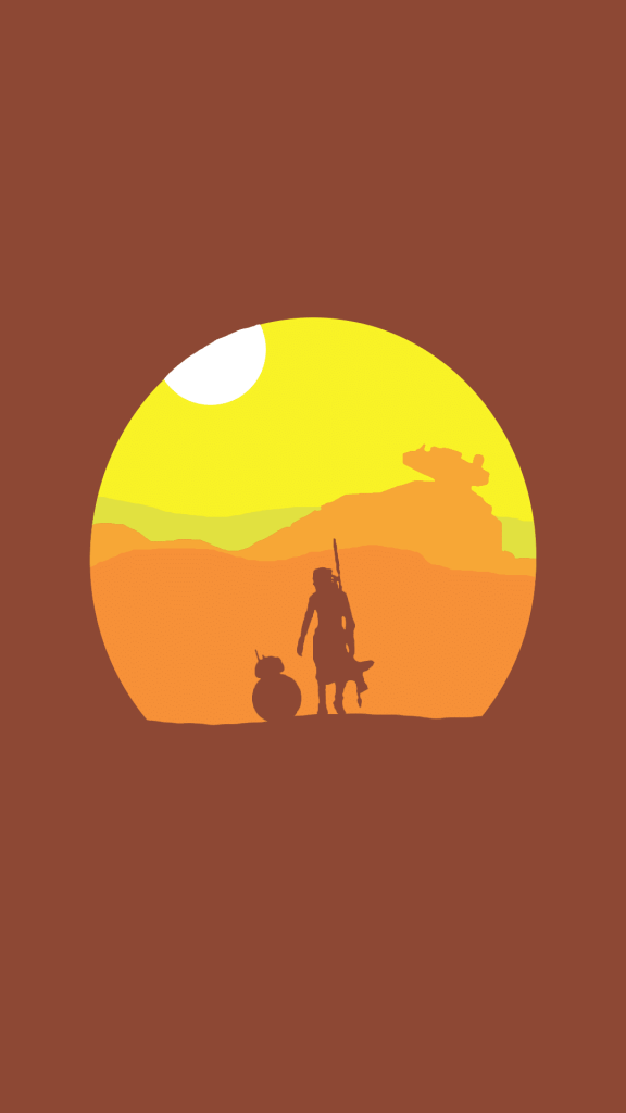 Star-Wars-iPhone-Wallpaper-The-Force-Unleashed-Rey-BB8
