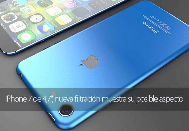 Filtración del iPhone 7