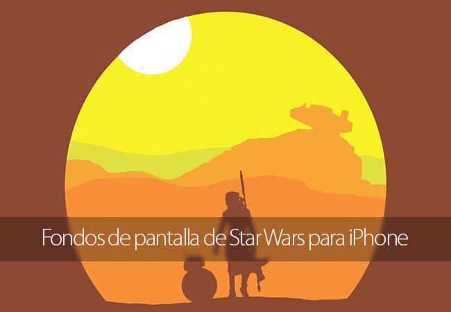 Wallpapers de Star Wars para iPhone