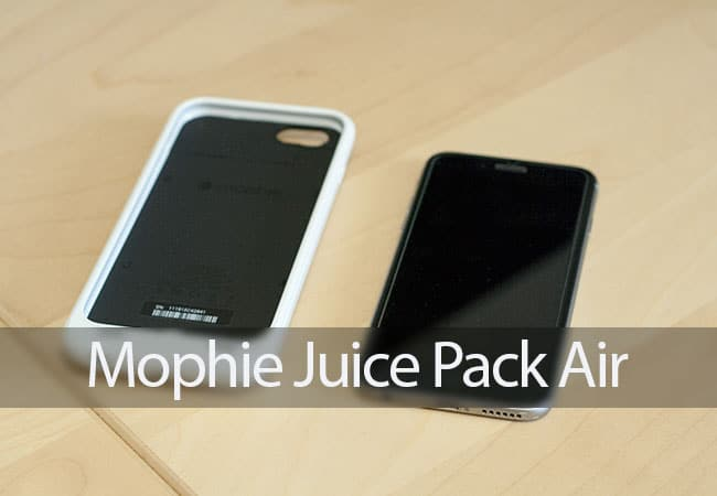 Review de la Mophie Juice Pack Air para iPhone 6