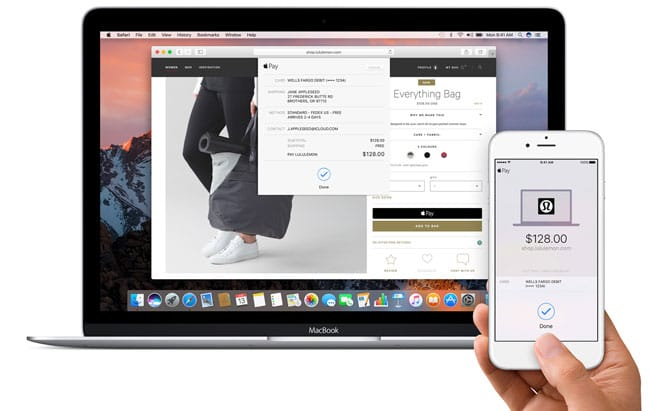 Apple Pay en macOS