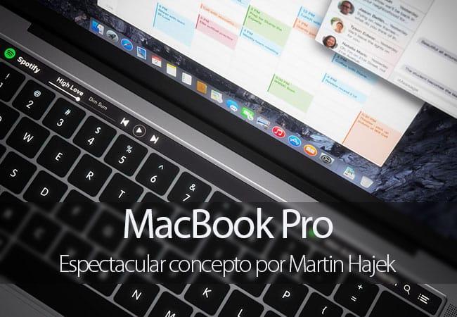 Concepto de MacBook Pro por Martin Hajek