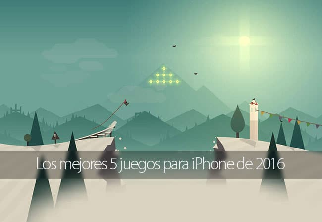 Los mejores 5 juegos de iPhone para 2016