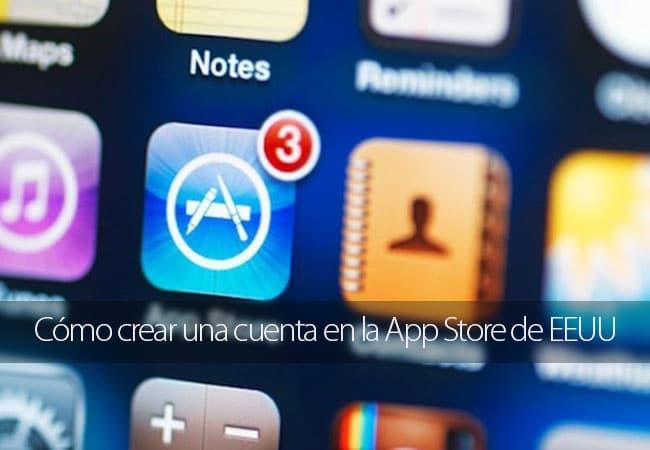 Crear cuenta App Store EEUU