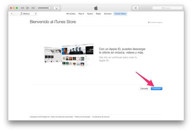 Información sobre el Apple ID
