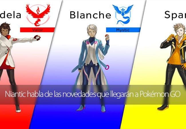 Pokémon GO novedades
