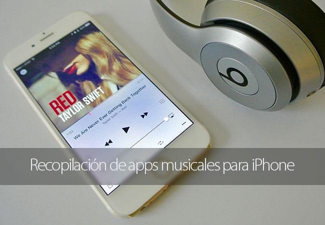 Recopilación de apps musicales para iPhone