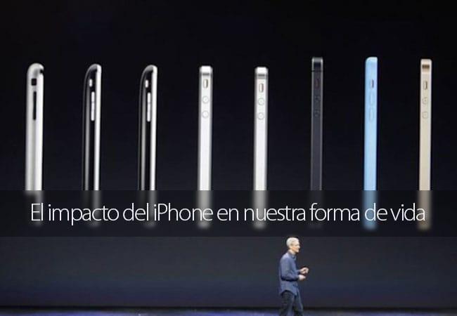El impacto del iPhone en nuestras vidas