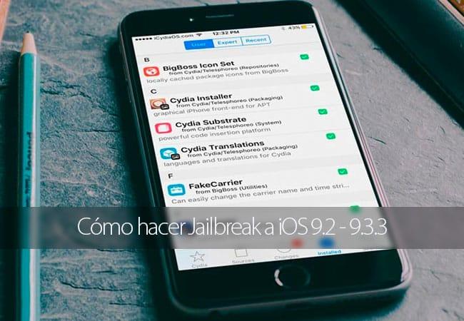 Cómo hacer Jailbreak a iOS 9.3.3