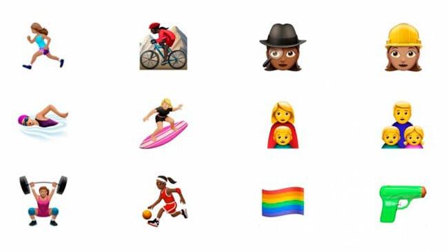Nuevos emojis de iOS 10 en apoyo a la diversidad