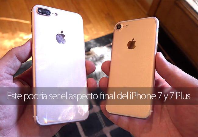 Vídeo que muestra el supuesto aspecto del iPhone 7