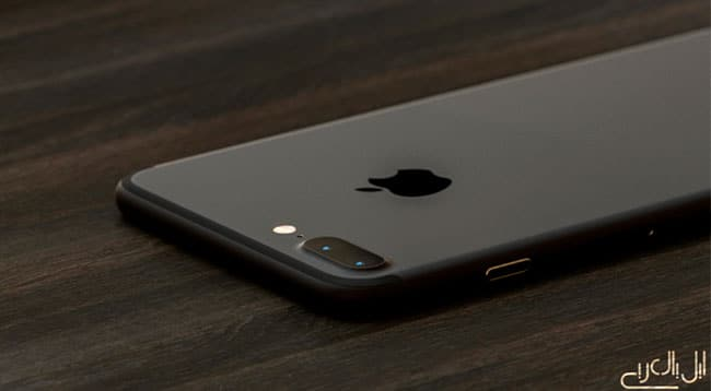 Concepto de iPhone 7 en color Negro Espacial