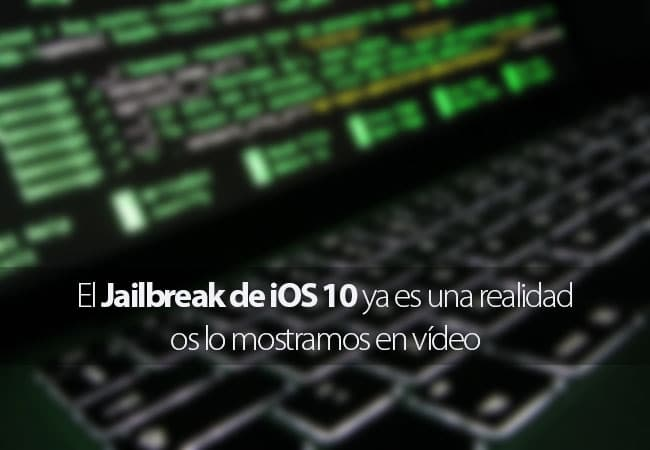 Jailbreak iOS 10 en vídeo