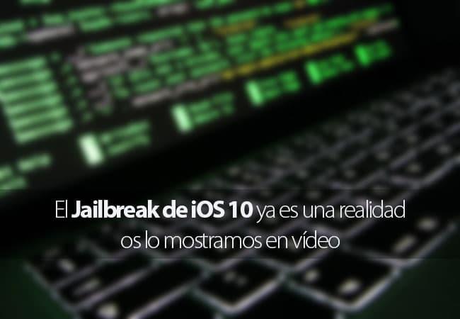 Jailbreak iOS 10 en vídeo
