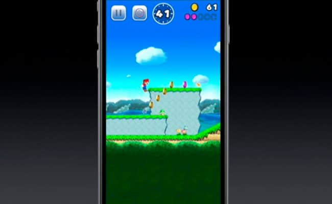 Demo de Super Mario Run