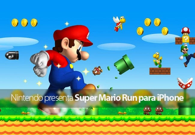 Nintendo presenta Super Mario Run para iPhone durante el evento de Apple