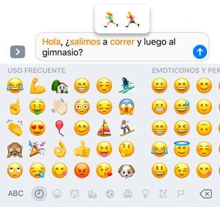 Sustituir palabra por emojis automáticamente en Mensajes de iOS 10