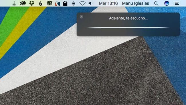 Activar Oye Siri en Mac