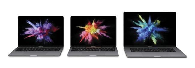 Familia MacBook Pro