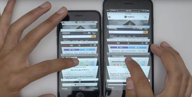 iPhone 7 vs 7 Plus - Memoria RAM